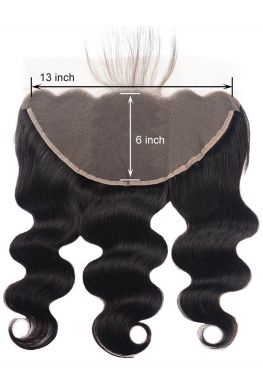 13x6 lace frontal Brazilian Virgin Body Wave--hf004