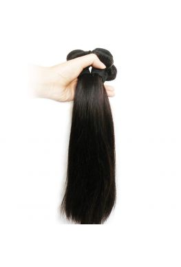 Brazilian Virgin Silk Straight Hair Weave 3 Bundles--hw01