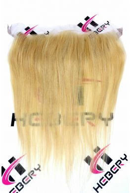13x4 lace frontal 613 blonde Brazilian Virgin Silky Straight--hf06