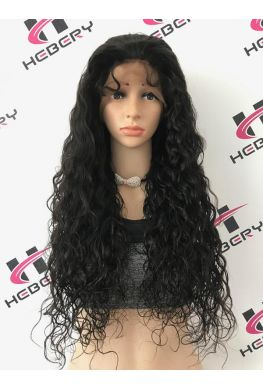 Beyonce wave 360 lace wig unprocessed brazilian virgin with bleached knots baby hair--hb011