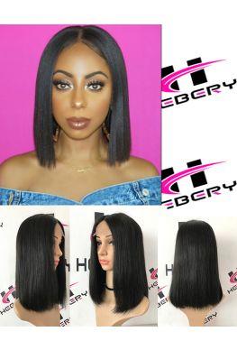 Blunt Bob cut 2x4 Lace front wig--hb001