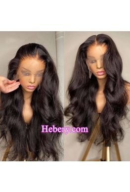 HD Lace Front Wig Glueless 13x6 wig 10A Brazilian virgin Body Wave Pre plucked--hd333