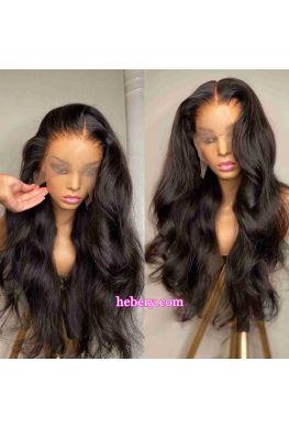 Stock Body Wave 13*6 HD Lace Front Wig Brazilian Virgin Pre plucked--hd333