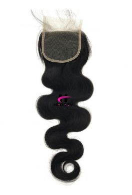 4X4 lace closure Brazilian Virgin body wave--hc06