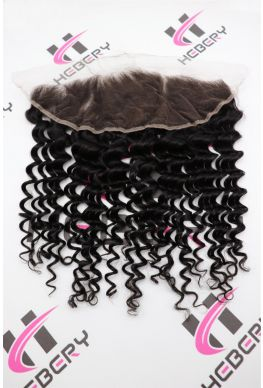 13x4 lace frontal Brazilian Virgin Deep Wave--hf05