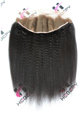 13x4 lace frontal Brazilian Virgin Italian yaki--hf03