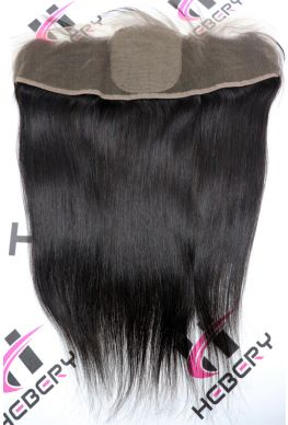 13x4 lace frontal with 4*4 Silk Top Brazilian Virgin Silky Straight--hbs13