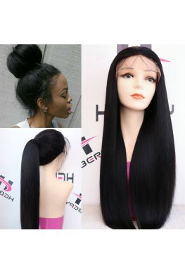 Light yaki Glueless Lace front wig--hb922