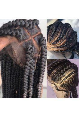 natural straight glueless full lace wig brazilian virgin human hair--hb101