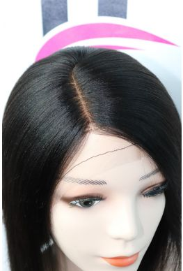 Bob style full lace Silk Top wig brazilian virgin human hair--hb222