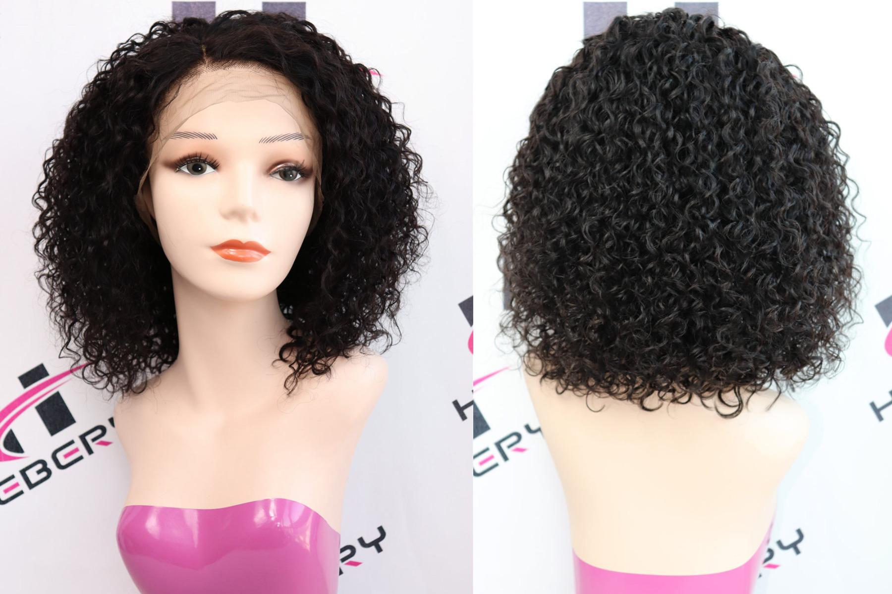 deep curly bob 360 wig