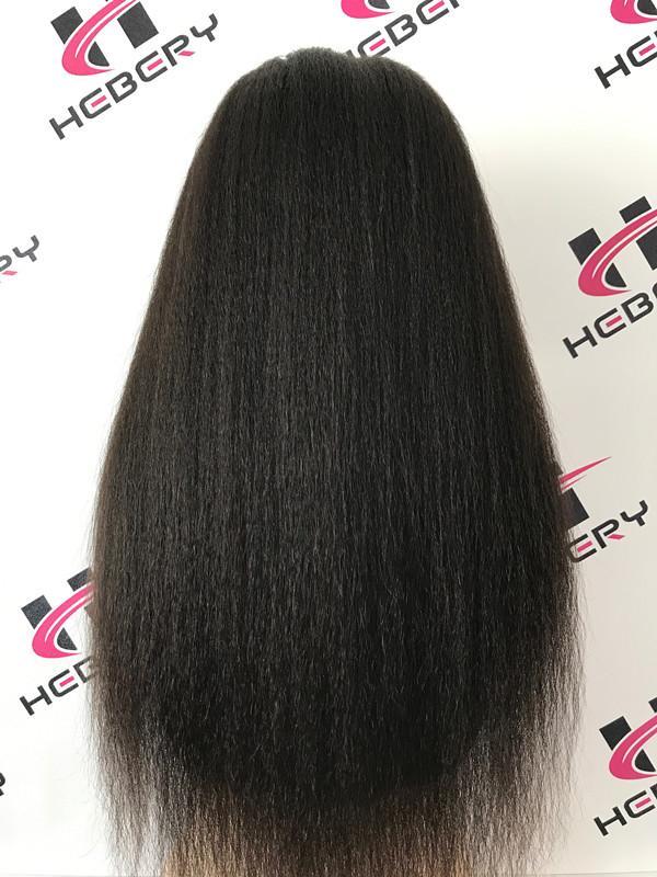 Kinky straight italian yaki wig