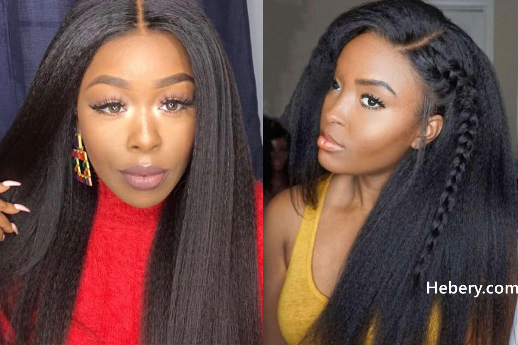kinky straight 360 wig
