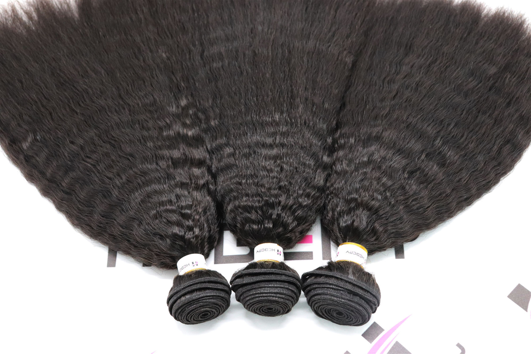 kinky straight wefts